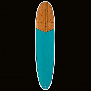Modern Double Wide XB Surfboard - Sea Blue - Top
