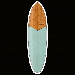 Modern Highline XB Surfboard - Sea Green - Top