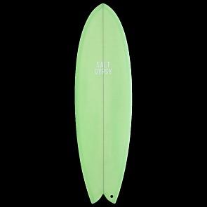 Salt Gypsy Shorebird Surfboard - Mint - Deck