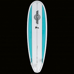 Walden Mega Magic 2 X2 Surfboard - Aqua