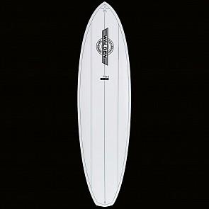 Walden Mini Mega Magic 2 X2 Surfboard - White - Top