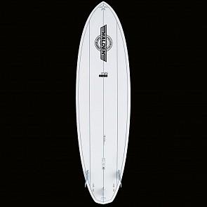 Walden Mini Mega Magic 2 X2 Surfboard - White