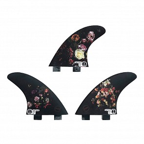 Captain Fin Dion Agius Flowers FCS Tri Fin Set
