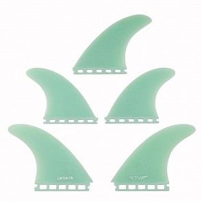 Captain Fin Tyler Warren Futures Tri-Quad Fin Set