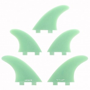 Captain Fin Tyler Warren FCS Tri-Quad Fin Set