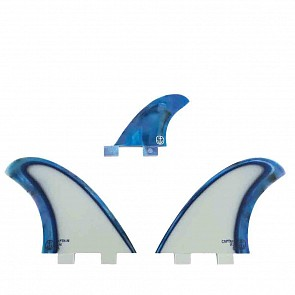 Captain Fin CF Twin Acid Splash FCS + 1 Fin Set