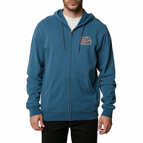 O'Neill Chalked Up Zip Up Hoody - Deep Teal