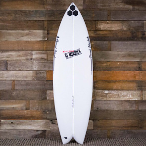 Channel Islands FishBeard 5'8 x 19 3/8 x 2 7/16 Surfboard - Deck