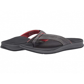 Reef Ortho Bounce Coast Sandals - Charcoal/Rust
