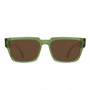 Raen Rhames Polarized Sunglasses - Chartreuse/Vibrant Brown