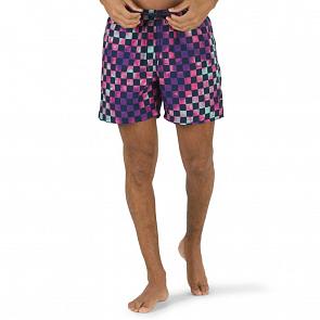 Vans Mixed Volley Boardshorts - Tie Dye Check