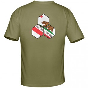 Channel Islands Cali Hex T-Shirt - Military Green