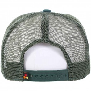 Channel Islands Cali Hex Trucker Hat - Forest Green
