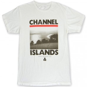 Channel Islands Rincon T-Shirt - Bone White