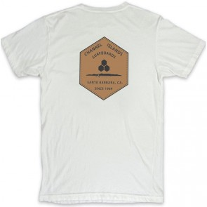 Channel Islands Ranch Hex T-Shirt - Bone White