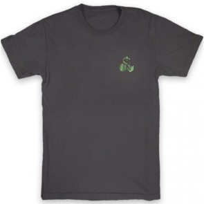 Channel Islands NW Salmon Hex T-Shirt - Black Washed