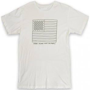 Channel Islands Almerica Flag T-Shirt - Bone White