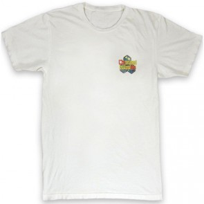 Channel Islands Water Color Hex T-Shirt - Bone White
