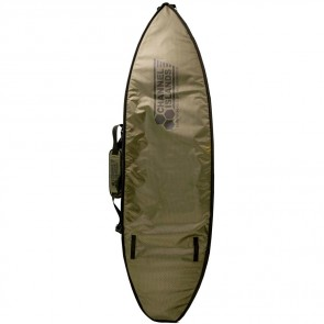 Channel Islands Travel Light CX2 Coffin Surfboard Bag - Army