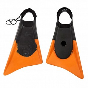 Churchill Makapuu Pro Swim Fins - Black/Orange
