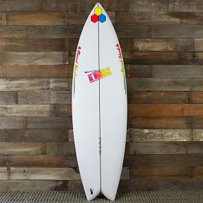 Channel Islands Fish Beard 6'0 x 20 1/8 x 2 11/16 Surfboard - top