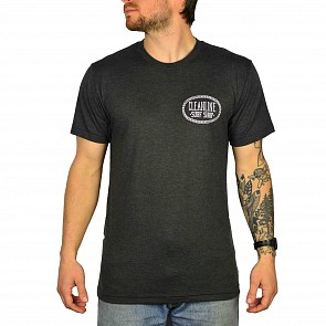 Cleanline Anchor Seaside T-Shirt - Black/Heather