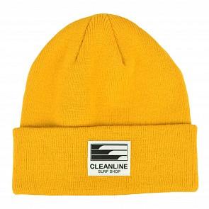 Cleanline Beanie - Gold
