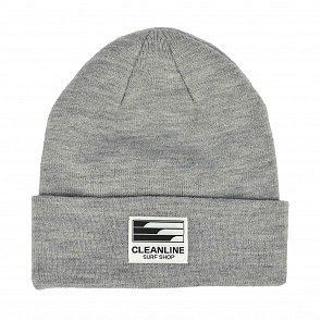 Cleanline Beanie - Steel Heather