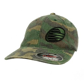 Cleanline Embroidered Rock Hat - Camo/Black