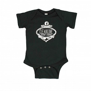 Cleanline Infant Anchor 2.0 Onesie - Black