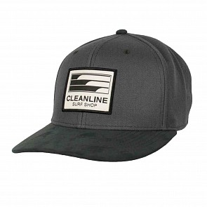 Cleanline Lines Hat - Charcoal/Graphite