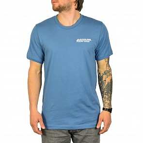 Cleanline Longboard T-Shirt - Steel Blue