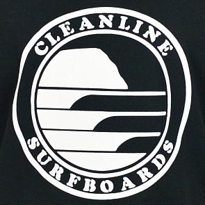 Cleanline Silhouette Circle Tank - Black