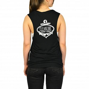 Cleanline Women's Anchor 2.0 Muscle Tank - Black