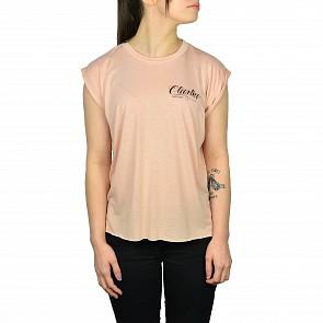 Cleanline Women's Eagle Script T-Shirt - Peach