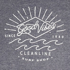 Cleanline Women's Good Vibes Hoody - Navy
