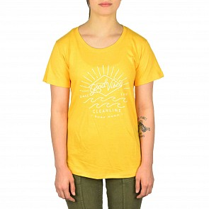 Cleanline Women's Good Vibes Top - Golden