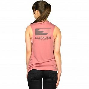 Cleanline Women's Lines Muscle Tank - Mauve