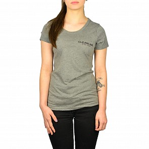 Cleanline Women's Lines Top - Grey/Black