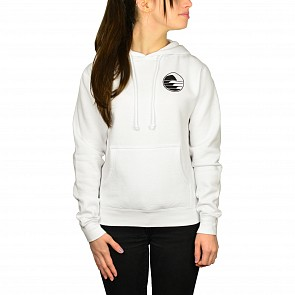Cleanline Women's Sunset Circle Hoody - White