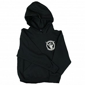 Cleanline Youth Shaka Bones Cannon Beach Hoody - Black