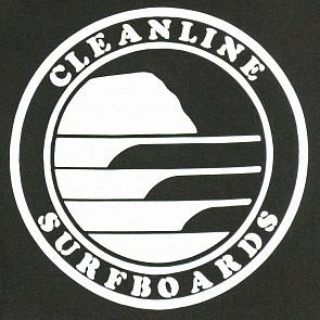 Cleanline Silhouette Circle Hoody - Black