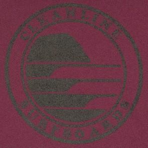 Cleanline Silhouette Circle Hoody - Maroon