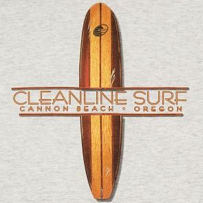 Cleanline Surf Lodge Hoody - Ash