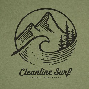 Cleanline Women's PNW Slouchy T-Shirt - Army Green