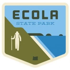 Patchmarks Ecola State Park Hiker Sticker