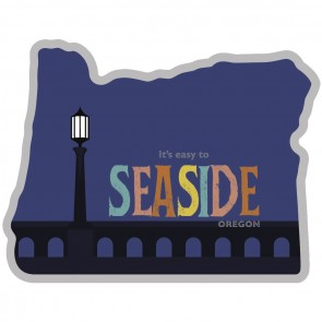 Heart Sticker Co. Seaside Oregon Sticker