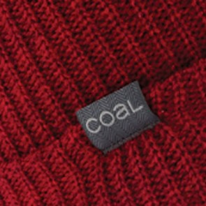 Coal Stanley Beanie - Dark Heather Red