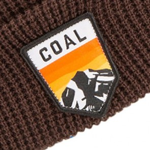 Coal Summit Beanie - Brown