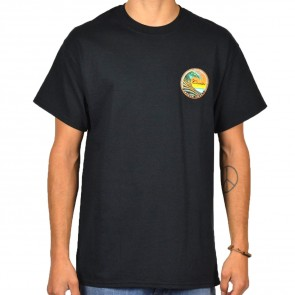Cleanline Clean Wave T-Shirt - Black